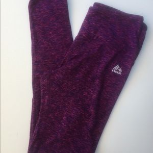 🍀[Reebok] LIVE LIFE ACTIVE Leggings; Size Small